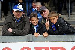 Bristol Rovers' fans - Photo mandatory by-line: Nizaam Jones /JMP - Mobile: 07966 386802 - 03/05/2015 - SPORT - Football - Bristol - Memorial Stadium - Bristol Rovers v Forest Green Rovers - Vanarama Football Conference.