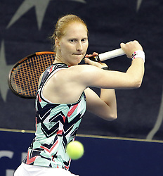 October 17, 2017 - Luxembourg, Luxembourg - Belgian player ALISON VAN UYTVANCK <br />
