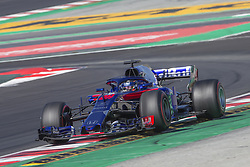 March 9, 2018 - Barcelona, Catalonia, Spain - Brendon Hartley during the test of F1 celebrated at Circuit of Barcelonacon 9th March 2018 in Barcelona, Spain. (Credit Image: © Joan Valls/NurPhoto via ZUMA Press)