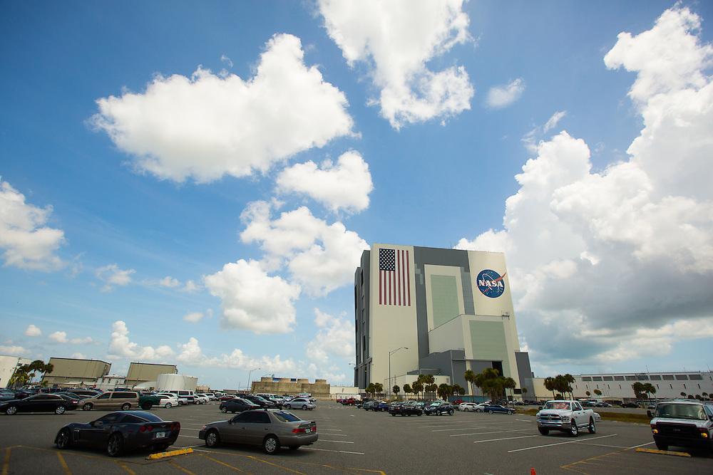 NASA Vehicle Assembly building.  8/12/2016 Photo by John O'Boyle