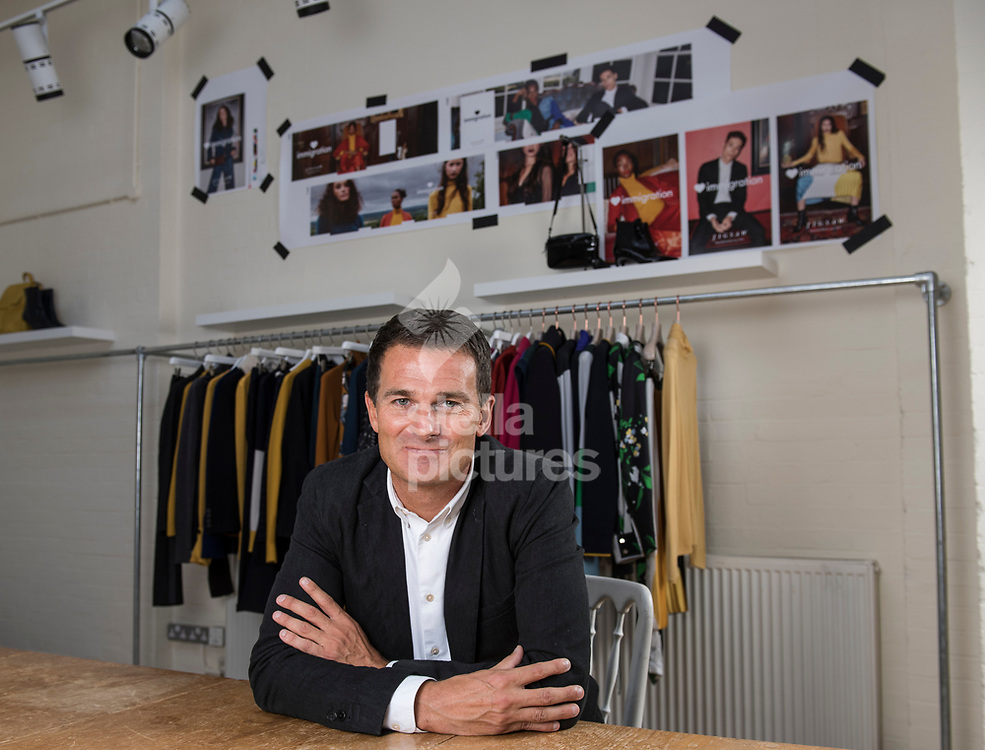 Peter Ruis, CEO Jigsaw Group, pictured at their south west London offices.<br /> Picture by Daniel Hambury/Stella Pictures Ltd 07813022858<br /> 28/09/2017