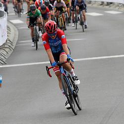 01-05-2021: Wielrennen: Elsy Jacobs: Etappe 2: Luxembourg: Steinfort: Emma Norsgaard Jorgensen wint in Steinfort voor Maria Giulia Confalonieri en Leah Kirchmann