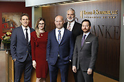SHOT 1/8/19 12:18:10 PM - Bachus & Schanker LLC lawyers James Olsen, Maaren Johnson, J. Kyle Bachus, Darin Schanker and Andrew Quisenberry in their downtown Denver, Co. offices. The law firm specializes in car accidents, personal injury cases, consumer rights, class action suits and much more. (Photo by Marc Piscotty / © 2018)