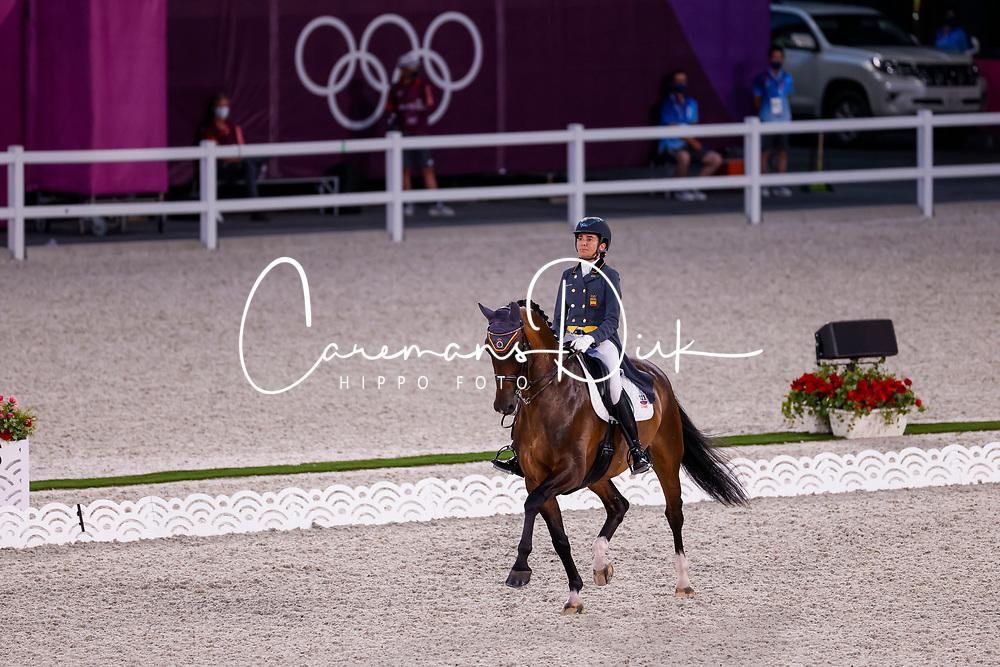 Ferrer-Salat Beatriz, ESP, Elegance, 123<br /> Olympic Games Tokyo 2021<br /> © Hippo Foto - Stefan Lafrentz<br /> 24/07/2021