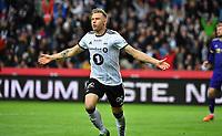 Football UEFA Champions League Q3<br /> Rosenborg - Maribor<br /> Lerkendal Stadium, Trondheim, Norway<br /> 13 August 2019<br /> <br /> Alexander Søderlund har utlignet til 1-1 for Rosenborg<br /> <br /> <br /> Foto : Arve Johnsen, Digitalsport