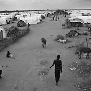 An overview of IFO extension refugee camp in Dadaab, world's largest refugee camp in Eastern Kenya. Photo: Sanjit Das/Panos