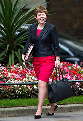 © Licensed to London News Pictures. 08/09/2015. London, UK. Lord Privy Seal, Leader of the House of Lords BARONESS STOWELL arriving at 10 Downing Street in London for cabinet meeting. Photo credit: Ben Cawthra/LNP