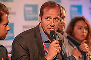 Christian Prudhomme, Director Tour de France during the Tour de Yorkshire Press Conference at the National Railway Museum, York, United Kingdom on 27 April 2017. Photo by Mark P Doherty.