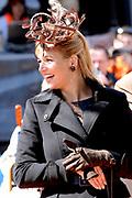 Her Majesty the queen and members of the royal family celebrate Saturday 29 April 2006 Queensday in the province flevoland in the cities  Zeewolde and almere.<br /> <br /> Hare Majesteit de Koningin en leden van de Koninklijke Familie vieren zaterdag 29 april 2006 Koninginnedag mee in de provincie Flevoland en wel in Zeewolde en Almere.<br /> <br /> On the Photo / Op dce foto: <br /> Pricess Maxima