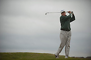 William R. Jankel ACTION while playing at Riverchase Golf Club in Coppell on Sunday, April 7, 2013. Jankel is a cardholding member of the PGA who also is dean of Strayer University's Irving campus. (Cooper Neill/The Dallas Morning News)