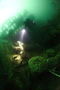 Exploring the wreck of the Ambulance Transport HMAT Warilda, a war grave that lies at 53 metres in the English Channel