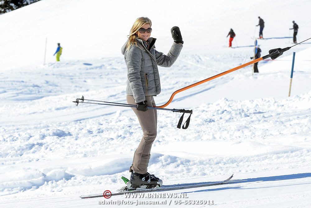 Fotosessie met de koninklijke familie in Lech /// Photoshoot with the Dutch royal family in Lech ...Op de foto / On the photo: rinses Maxima