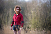 Sean Conway, Wimbledon Common. Sean Conway portrait