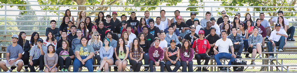 Cal Hills High School Class of 2013 photographed at the Milpitas Sports Center in Milpitas, California, on June 6, 2013. (Stan Olszewski/SOSKIphoto)