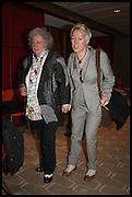 MAGGI HAMBLING; CAROLINE CLARKE, Sandi  and Debbie Toksvig,  renewing their civil partnership vows at the Royal Festival Hall. London. 29 March 2014.
