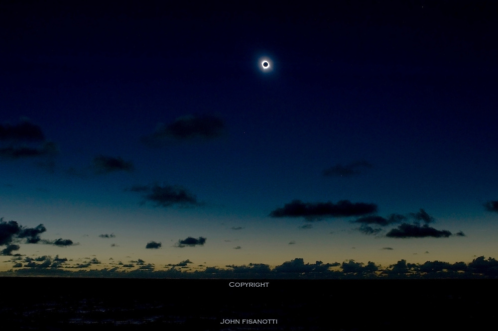 Total solar eclipse on July 11, 2010