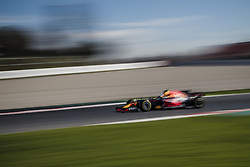 March 1, 2017 - Montmelo, Catalonia, Spain - DANIEL RICCIARDO (AUS) drives on track during day 3 of Formula One testing at Circuit de Catalunya (Credit Image: © Matthias Oesterle via ZUMA Wire)