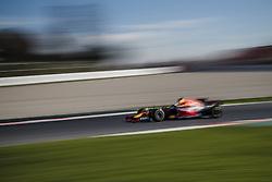 March 1, 2017 - Montmelo, Catalonia, Spain - DANIEL RICCIARDO (AUS) drives on track during day 3 of Formula One testing at Circuit de Catalunya (Credit Image: © Matthias Oesterle via ZUMA Wire)
