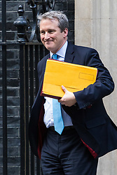 London, January 16 2018. Education Secretary Damian Hinds leaves the UK cabinet meeting at Downing Street. © Paul Davey
