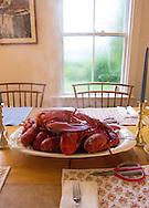 7/2/2013<br /> Lobster dinner, Vinalhaven, Maine.