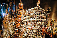 Sweden, Stockholm. The Vasa ship in the Vasa Museum.