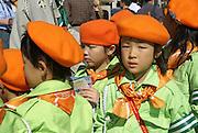 Japan, Tokyo girl scouts