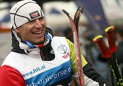 "Sandi Murovec before the first run of ""Ski Legends HIT Challenge by Jure Kosir"" event in Kranjska Gora, Slovenia, on February 2, 2008. (Photo by Vid Ponikvar / Sportal Images)."