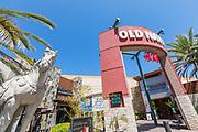 Mall Entrance at Shops at Mission Viejo
