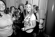 Hannah Ild, Launch of Stephanie Theobald's book' A Partial Indulgence'  drinks provided by Ruinart champage nd Snow Queen vodka. The Artesian at the Langham, 1c Portland Place, Regent Street, London W1<br /> Hannah Ild, Launch of Stephanie Theobald's book' A Partial Indulgence'  drinks provided by Ruinart champage nd Snow Queen vodka. The Artesian at the Langham, 1c Portland Place, Regent Street, London W1 *** Local Caption *** -DO NOT ARCHIVE-© Copyright Photograph by Dafydd Jones. 248 Clapham Rd. London SW9 0PZ. Tel 0207 820 0771. www.dafjones.com.