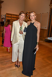 Georgiana Anstruther-Gough-Calthorpe and Gabriella Wilde at The Royal Academy of Arts Summer Exhibition Preview Party 2019, Burlington House, Piccadilly, London England. 04 June 2019.