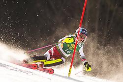 Chiara Mair (AUT) during the Ladies' Slalom at 56th Golden Fox event at Audi FIS Ski World Cup 2019/20, on February 16, 2020 in Podkoren, Kranjska Gora, Slovenia. Photo by Matic Ritonja / Sportida