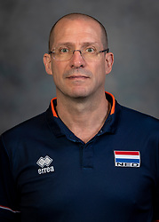21-05-2019 NED: Team shoot Dutch volleyball team men, Arnhem<br /> Coach Roberto Piazza of Netherlands