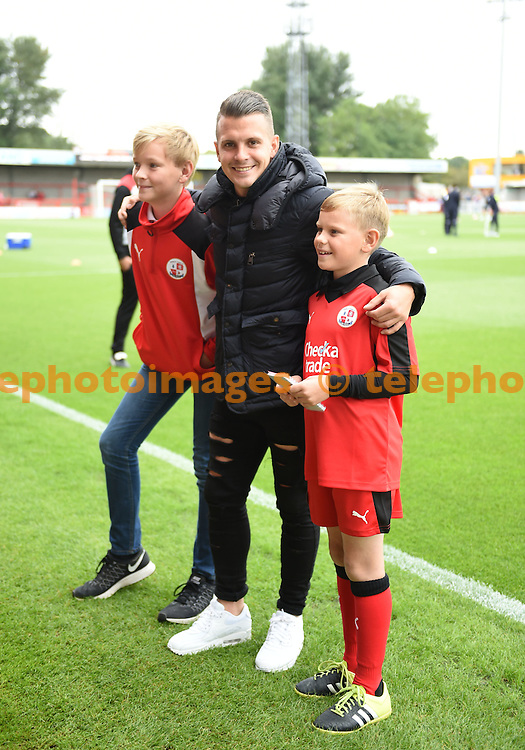 Sky Bet League 2 match between Crawley Town and Luton Town at the Checkatrade Stadium in Crawley. September 17, 2016.<br /> Simon  Dack / Telephoto Images<br /> +44 7967 642437