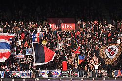 February 17, 2018 - Paris, France - ILLUSTRATION - SUPPORTERS - DRAPEAUX (Credit Image: © Panoramic via ZUMA Press)