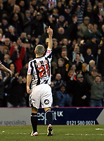 Photo: Mark Stephenson/Sportsbeat Images.<br /> West Bromwich Albion v Scunthorpe United. Coca Cola Championship. 29/12/2007.West Brom's Kevin Phillips celebrates his first goal