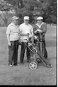 Golf Being Filmed at Portmarnock - Special for Bord Failte.27/05/1970