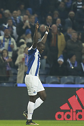 December 6, 2017 - Na - Porto, 06/12/2017 - Football Club of Porto received, this evening, AS Monaco FC in the match of the 6th Match of Group G, Champions League 2017/18, in Estádio do Dragão. Aboubakar celebrates goal  (Credit Image: © Atlantico Press via ZUMA Wire)