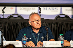 Akerström Göran, Veterinary Director<br /> World Equestrian Games - Tryon 2018<br /> © Hippo Foto - Dirk Caremans<br /> 14/09/18