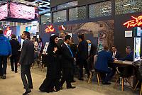 DEU, Deutschland, Germany, Berlin, 07.03.2019: Internationale Tourismus-Börse (ITB) auf dem Berliner Messegelände. Der Stand der Türkei.