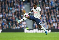 Serge Aurier of Tottenham Hotspur controls the ball in mid air - Mandatory by-line: Arron Gent/JMP - 19/10/2019 - FOOTBALL - Tottenham Hotspur Stadium - London, England - Tottenham Hotspur v Watford - Premier League