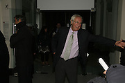 Barry Norman, USA Today. Saatchi Gallery and The Royal academy of Arts. Piccadilly. London. 5 October 2006. -DO NOT ARCHIVE-© Copyright Photograph by Dafydd Jones 66 Stockwell Park Rd. London SW9 0DA Tel 020 7733 0108 www.dafjones.com