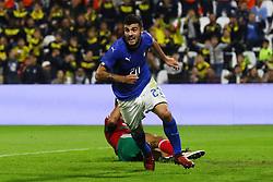 GOAL PATRICK CUTRONE<br /> CALCIO AMICHEVOLE ITALIA - MAROCCO U21