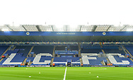 a General View inside the stadium ahead of the Premier league match, Leicester City v Sunderland at the King Power Stadium in Leicester, Leicestershire on Tuesday 4th April 2017.<br /> pic by Bradley Collyer, Andrew Orchard sports photography.