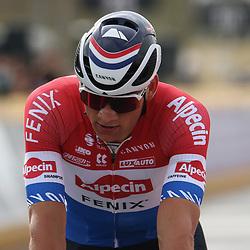 04-04-2021: Wielrennen: Ronde van Vlaanderen (Mannen): Oudenaarde<br />Mathieu van der Poel