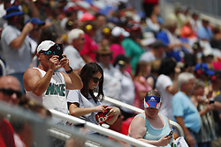 May 26, 2018 - Concord, North Carolina, United States of America - Fans look on during the Alsco 300 at Charlotte Motor Speedway in Concord, North Carolina. (Credit Image: © Chris Owens Asp Inc/ASP via ZUMA Wire)