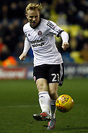 Mark Duffy of Sheffield United in action. EFL Skybet championship match, Millwall v Sheffield Utd at The Den in London on Saturday 2nd December 2017.<br /> pic by Steffan Bowen, Andrew Orchard sports photography.