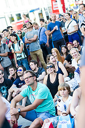 01.08.2015, Mariahilfer Straße, Wien, AUT, ISFC, Free Solo Masters MAHÜ, Qualifikation II, im Bild TEXT // during qualification of the ISFC Free Solo Masters MAHÜ at the Mariahilfer Strasse in Vienna, Austria on 2015/08/01. EXPA Pictures © 2015, PhotoCredit: EXPA/ Michael Gruber