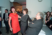 JANET STREET-PORTER; TRACEY EMIN, Art Plus Music Party 2010. Whitechapel art Gallery.  To raise money for the gallery';s education and community programme. 22 April 2010.
