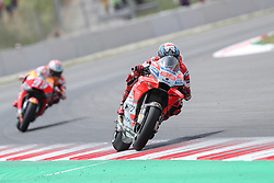 June 17, 2018 - Montmelo, Catalunya, Spain - Jorge LORENZO of Spain and Ducati Team leads the race ahead of Marc MARQUEZ of Spain and Repsol Honda Team during Gran Premi Monster Energy de Catalunya (Grand Prix of Catalunya), MotoGP race, on June 17, 2018 at the Catalunya racetrack in Montmelo, near Barcelona, Spain (Credit Image: © Manuel Blondeau via ZUMA Wire)