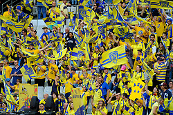 June 5, 2017 - Saint Denis, Seine Saint Denis, France - Fans of the ASM Clermont-Auvergne, during the final of the French Rugby Championship Top 14 against Rugby Club Toulonnais at the Stade de France - St Denis France.ASM Clermont beat RC Toulon 22-16 (Credit Image: © Pierre Stevenin via ZUMA Wire)
